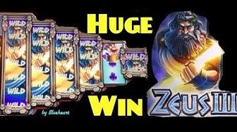 ZEUS III slot machine Max Bet MEGA BIG WIN BONUS!