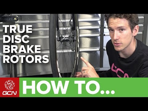 How To True A Disc Brake Rotor On Your Bike