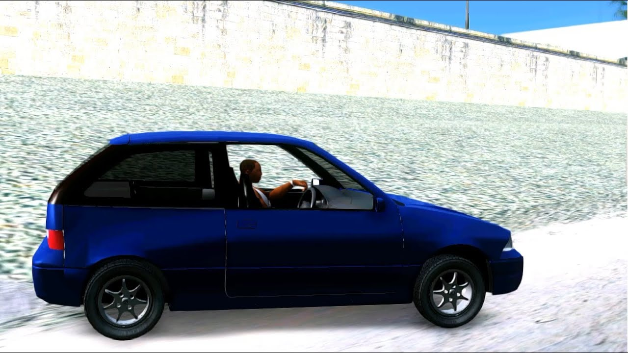 Suzuki Swift GLX 1 3 - GTA MOD - YouTube