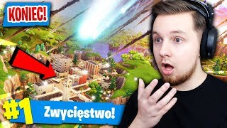 METEOR *ZNISZCZY* TILTED TOWERS?! | Fortnite (Battle Royale)