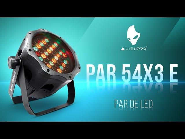 PAR 54X3 E - PAR de LED