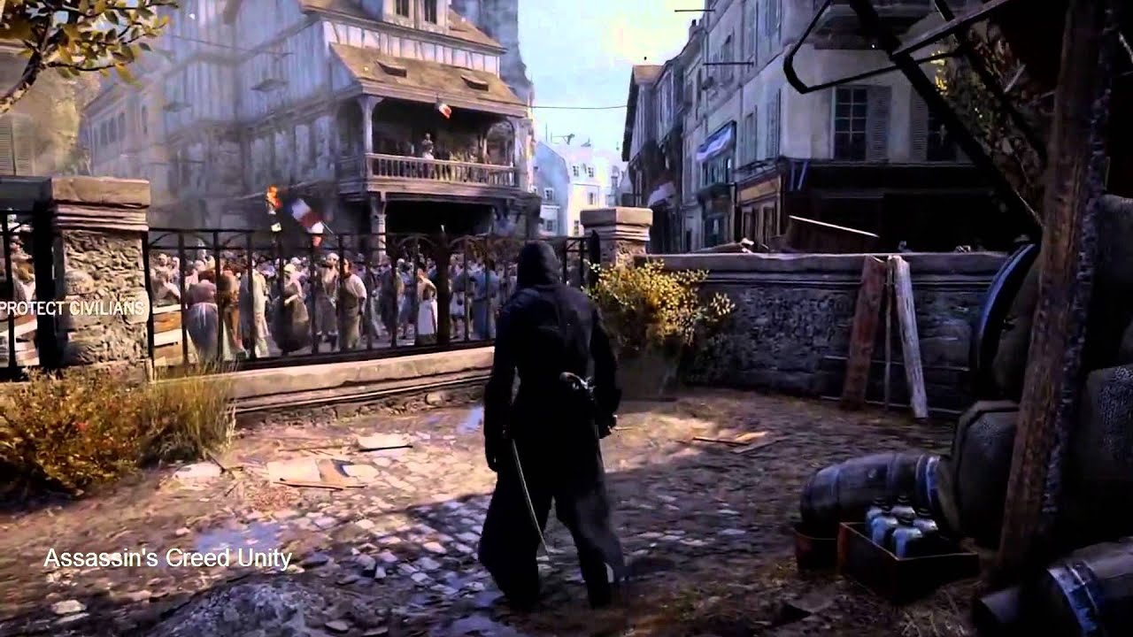 assassins creed unity gameplay comparison essay