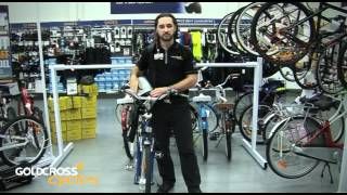 Bikes panniers and racks explained.