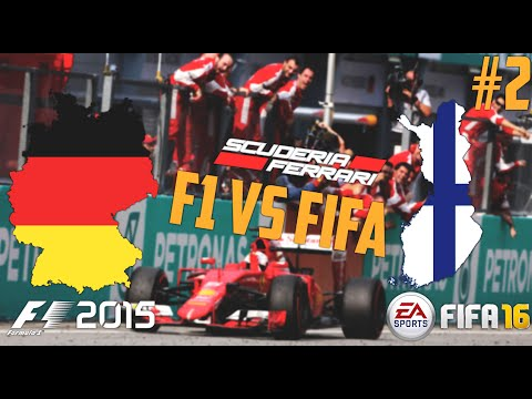F1 Vs FIFA - Ferrari F1 Team Battle FINLAND Vs GERMANY! Episode 2