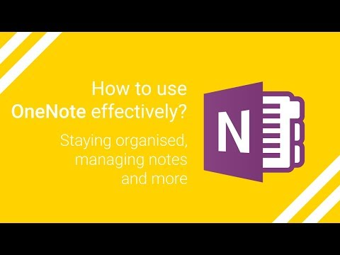 How to use OneNote effectively? Tutorial & tips for better note-taking, going paperless and planning