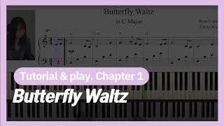 Sub)How to read music 악보보는법을 통해 ButterflyWaltz배우기1