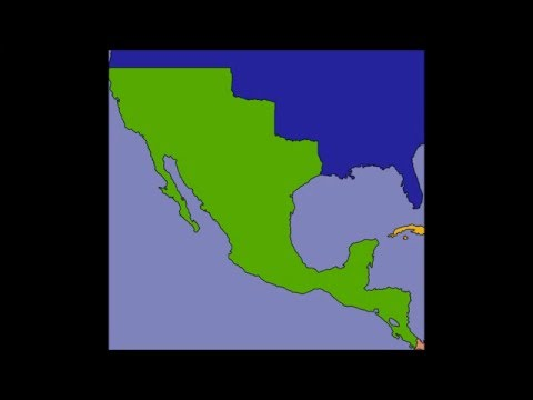 The First Mexican Empire Every Year.
