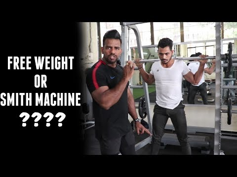 Free Weights Or Machines | Which one is more effective??? | Explained in Detail |