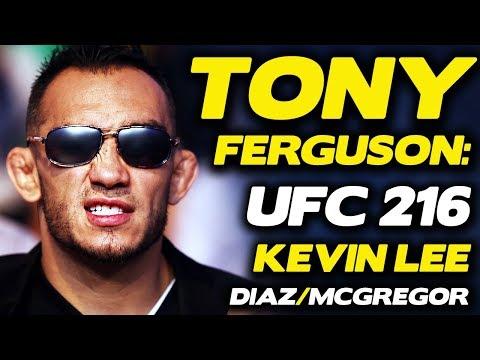 "UFC 216: Tony Ferguson Responds to Kevin Lee, Threatens to ""Stockton Slap the Sh*t Out Of"" Nate Diaz"