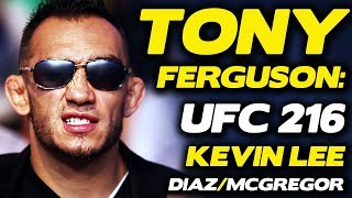 UFC 216: Tony Ferguson Responds to Kevin Lee, Threatens to