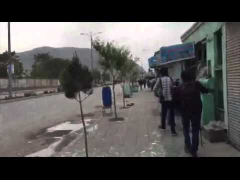 Taliban suicide bomb attack In Kabul and shoots  19.04.2016