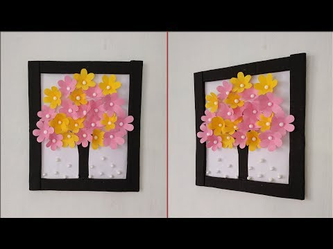 How to decorate your room easily   Handmade beautiful wall decoration ideas   Wall hanging