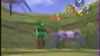 Zelda 64 - long BETA Trailer (Promo VHS 1997) [French]
