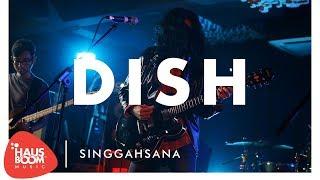 Malaysian local rock band DISH performs their track ' Singgahsana '...
