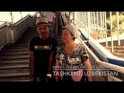 Tashkent, Uzbekistan. Travel with H