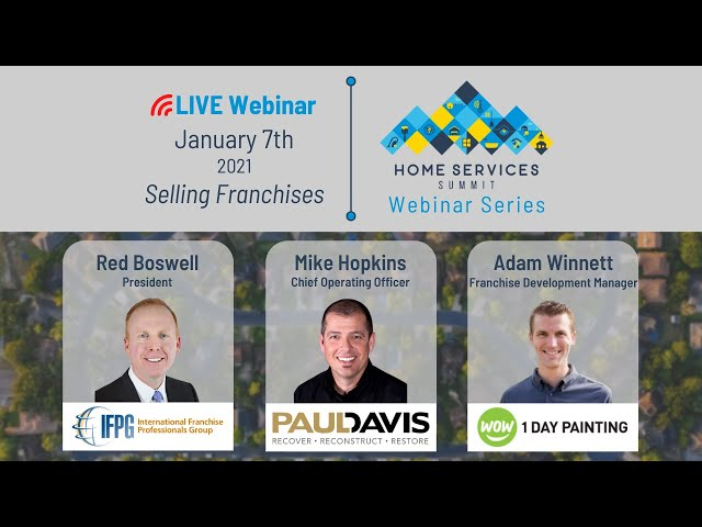 Red Boswell, President of IFPG, and Other Industry Experts Discuss Franchise Sales - Webinar Ep. 3