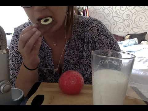 ASMR: Äter En Choklad Kamera