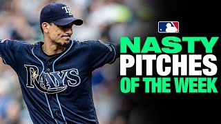 Nastiest Pitches of the Week! (8/7 to 8/13) | MLB Highlights