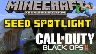 MC Xbox 360: SEED SPOTLIGHT #4 - BLACK OPS 2 (INSANE CAVE SYSTEM & EPIC MOUNTAINS)