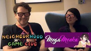 Neighborhood Game Club - MegaMoeka (Voice Actress & Streamer) E3 2017