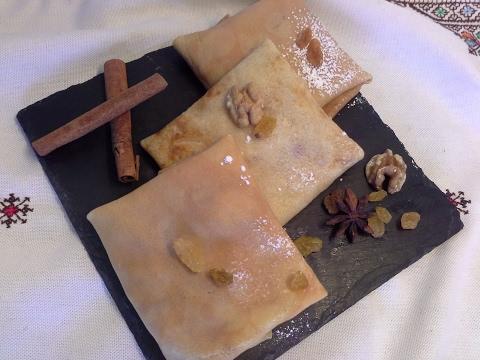 Recettes de crepes facileكريب حلو و وصفة ناجحة للمبتدئات/كريب بالتفاح  المعسل/مع شرح طريقة الطهي