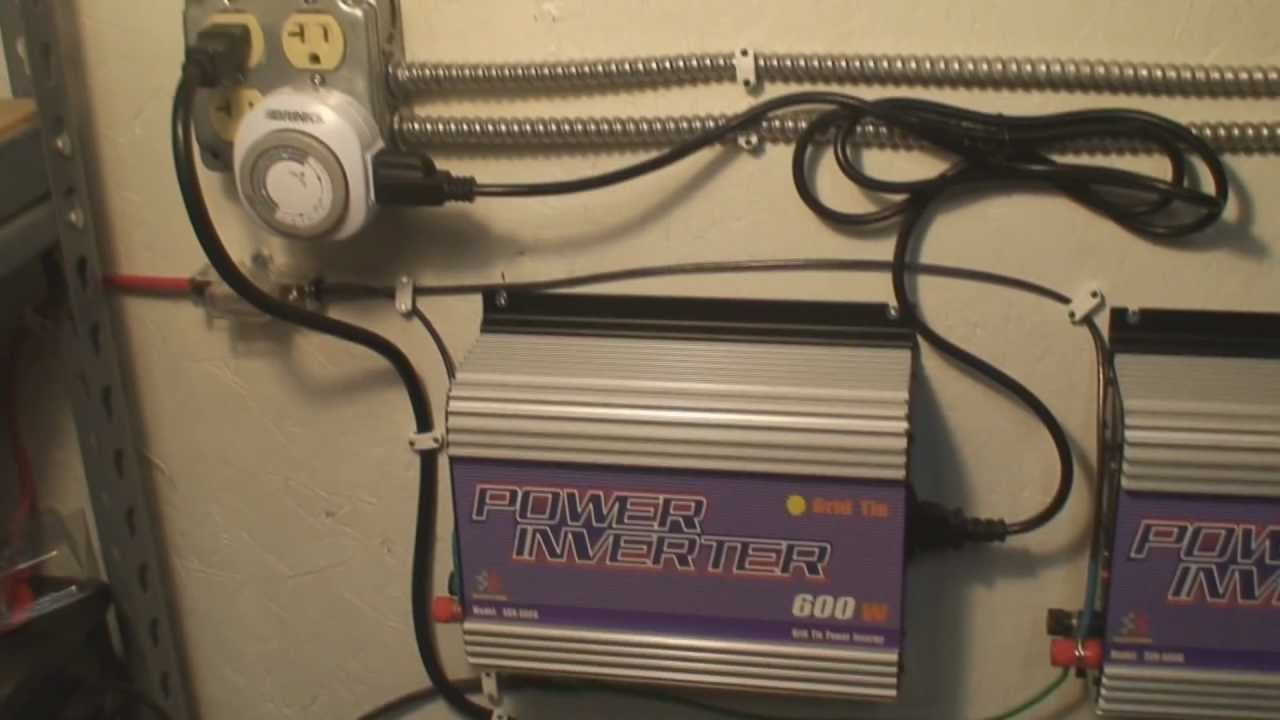 Free Energy Diy Gti Solar Grid Tie Inverter Sun Spin Meter