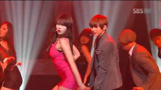Cover images Trouble Maker - Trouble Maker (트러블메이커) @SBS Inkigayo 인기가요 20111218
