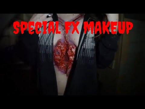 Special fx make up on zombie cadaver incredible Dennis Carter jr