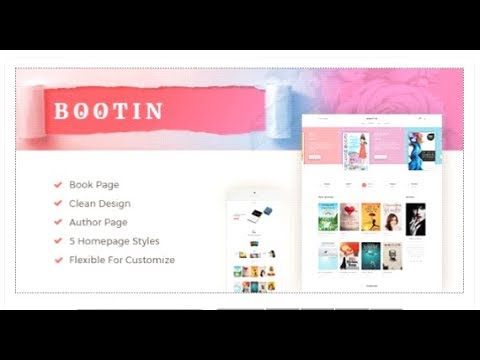 Bootin - Book Store WooCommerce WordPress Theme | Themeforest Templates