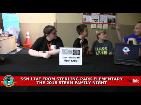 SSN:  LIVE from STEAM Night at Sterling Park Elementary School