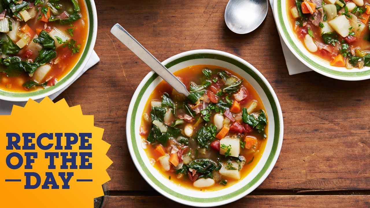 Recipe of the day giadas winter minestrone food network youtube recipe of the day giadas winter minestrone food network forumfinder Image collections