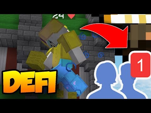 SI TU GAGNES CE BED WARS ON DEVIENT AMI - Minecraft