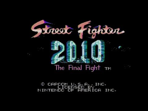 Street Fighter 2010 Nes Playthrough By James Youtube