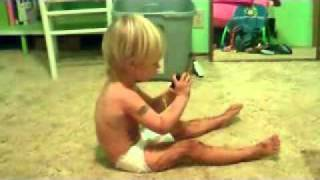 2 Year Old Sings The Alphabet