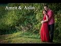 Amrit Azlin s super fantastic pre wedding