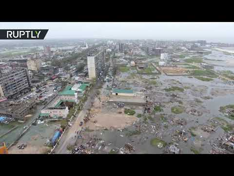 Giant cyclone Idai demolishes 90% of Beira, Mozambique, claiming lives of as many as 1,000 people