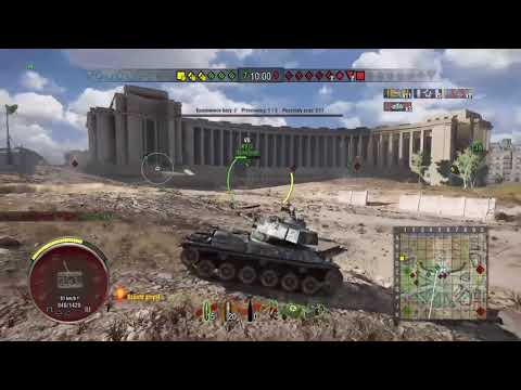 WOT Console   STA-2   14 kills, platoon