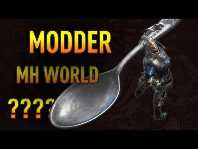 Est-il possible de modder Monster Hunter World sur PC ??