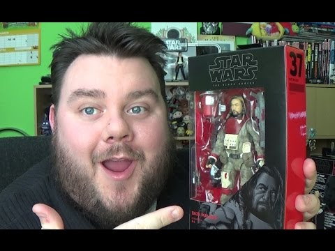 Star Wars Rogue One Black Series Baze Malbus Action Figure Review - 동영상