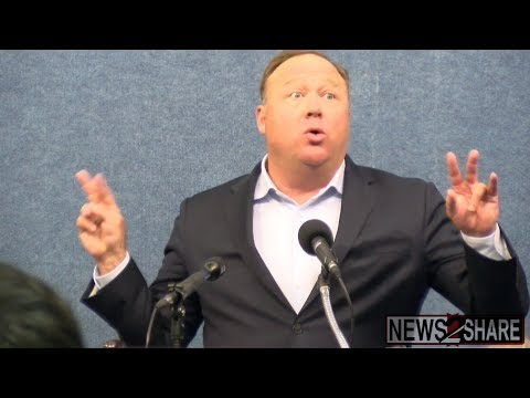 Alex Jones Responds to News2Share Question on Youtube Censorship