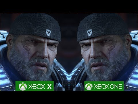 Gears of War 4 Xbox One X vs Xbox One Shows Remarkable Differences [4K/60fps]