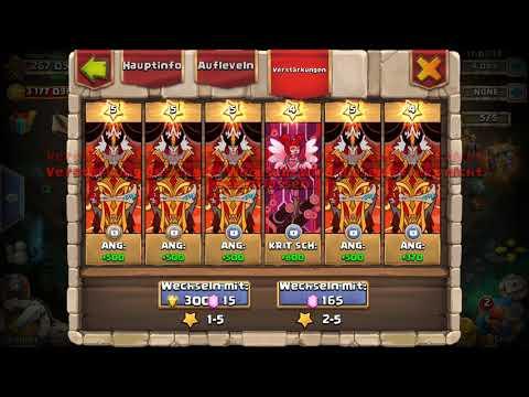Castle Clash - UPDATE: VERSTÄRKUNGEN ERKLÄRT (PD Verstärkungen Rollen)