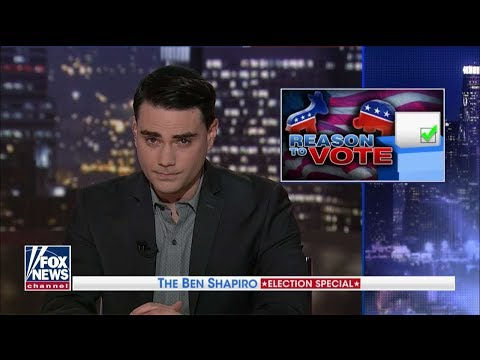 Ben Shapiro\'s 10 Reasons to Vote Republican in November