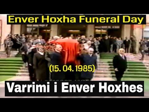 Varrimi i Enver Hoxhes - Enver Hoxha Funeral Day (15. 04. 1985)