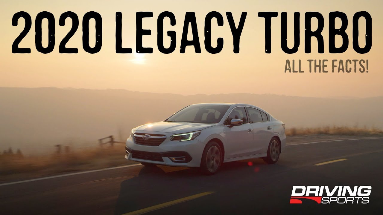 2020 Subaru Legacy Turbo All The Official Details