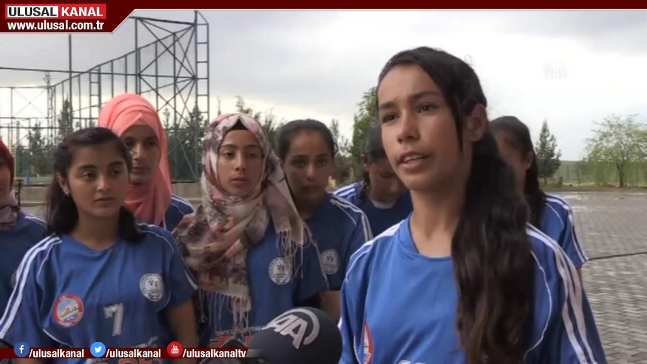 Yıldız Kızlar Futbol Takımı, Türkiye şampiyonasına hazırlanıyor