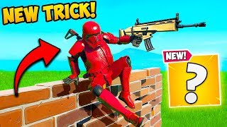 *NEW TRICK* VAULT OVER BUILDS!! - Fortnite Funny Fails and WTF Moments! #770