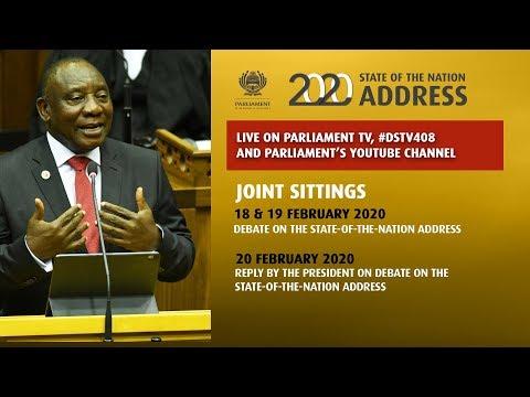Plenary, Joint Sitting,