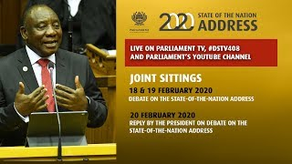 Plenary, Joint Sitting, 19 February 2020