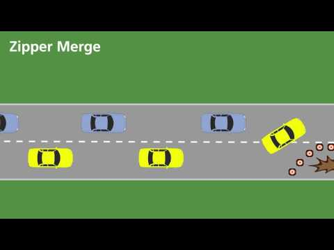 Zipper Merge Demonstration